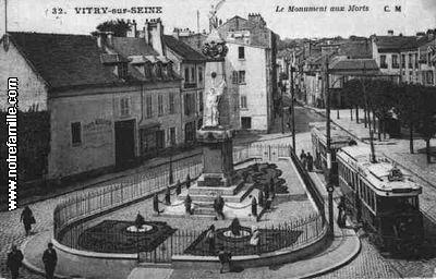 Photos et cartes postales anciennes de vitry sur seine 94400 for Piscine 8 mai vitry sur seine