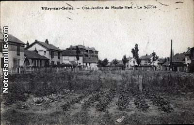 Photos et cartes postales anciennes de vitry sur seine 94400 for Garage da vitry sur seine