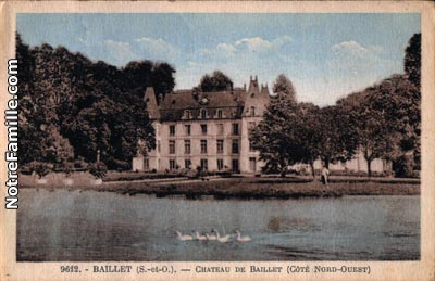 Photos et cartes postales anciennes de baillet en france 95560 - Domexpo baillet en france ...