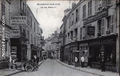 Photos et cartes postales anciennes de beaumont sur oise for Garage ml auto beaumont sur oise