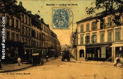 Photos et cartes postales anciennes de bezons 95870 for Garage des barentins 95870 bezons
