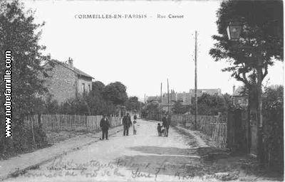 Photos et cartes postales anciennes de cormeilles en for Piscine cormeilles en parisis