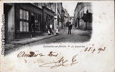 photos et cartes postales anciennes de cormeilles en. Black Bedroom Furniture Sets. Home Design Ideas