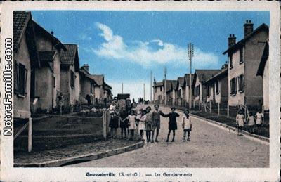 Photos et cartes postales anciennes de goussainville 95190 for Piscine de goussainville