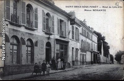 photos et cartes postales anciennes de saint brice sous. Black Bedroom Furniture Sets. Home Design Ideas