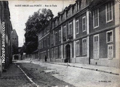 photos et cartes postales anciennes de saint brice sous for t 95350. Black Bedroom Furniture Sets. Home Design Ideas