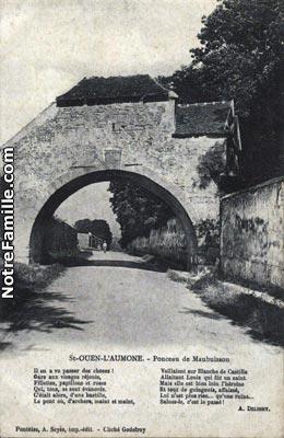 Photos et cartes postales anciennes de saint ouen l 39 aum ne for Garage automobile saint ouen l aumone
