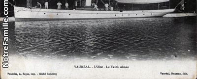 Photos et cartes postales anciennes de vaur al 95490 for Piscine vaureal