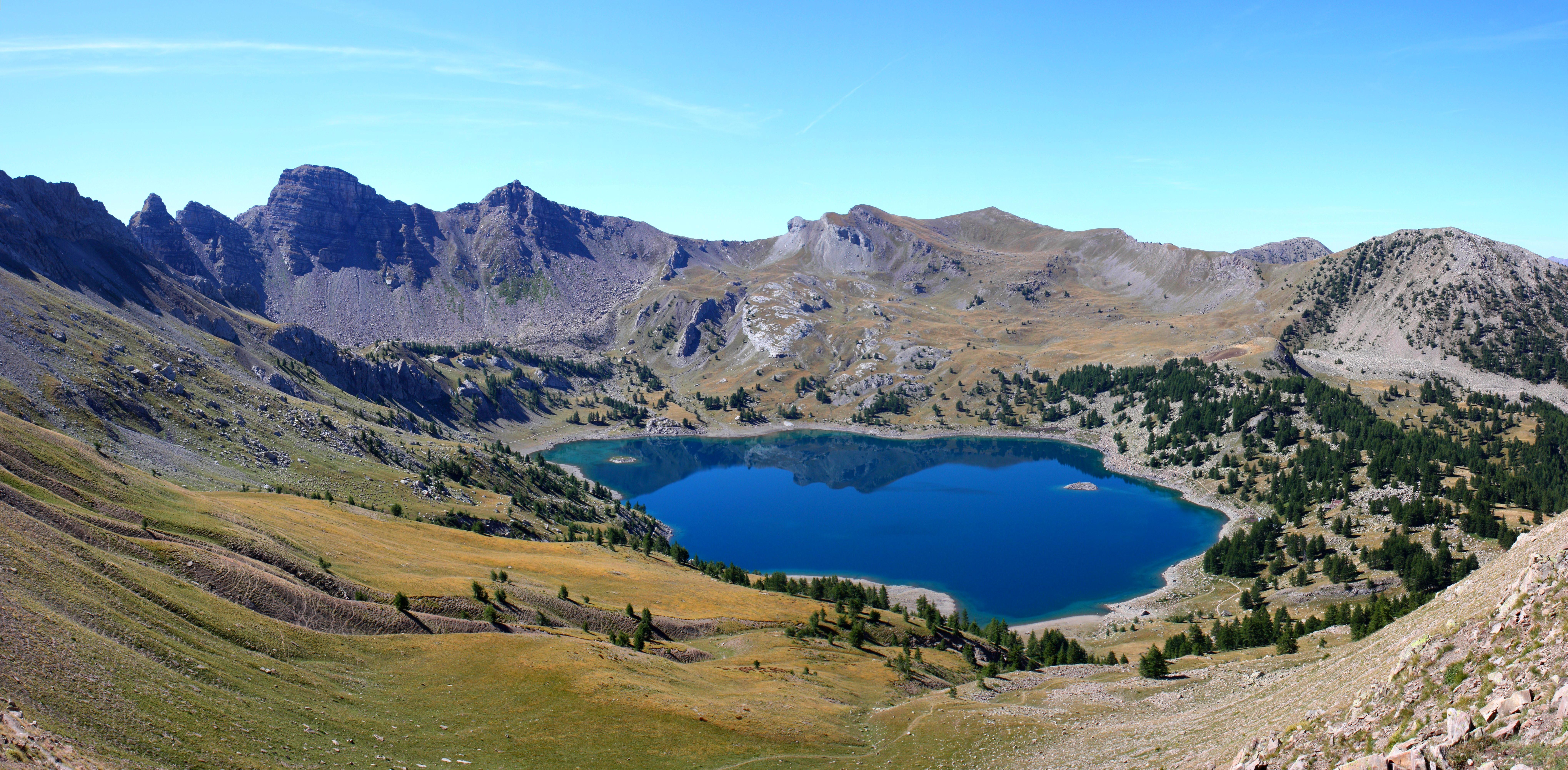 Photo allos 04260 lac d 39 allos 186404 - Office du tourisme allos alpes de haute provence ...