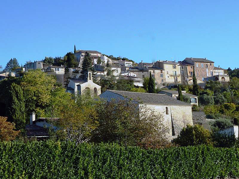 Photo à Saint-Julien-d'Asse (04270) : Vue sur le village - Saint ...