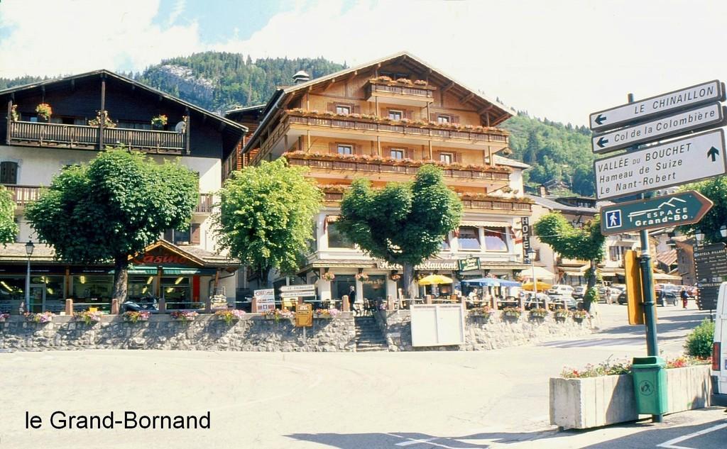 Photo le grand bornand 74450 le village le grand - Piscine le grand bornand ...