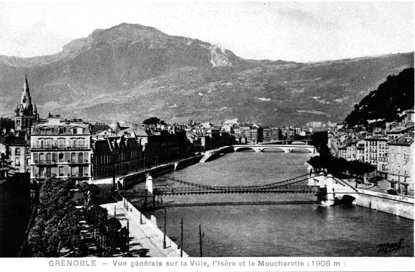 Photo grenoble 38000 vue g n rale sur la ville l - Piscine campus grenoble ...