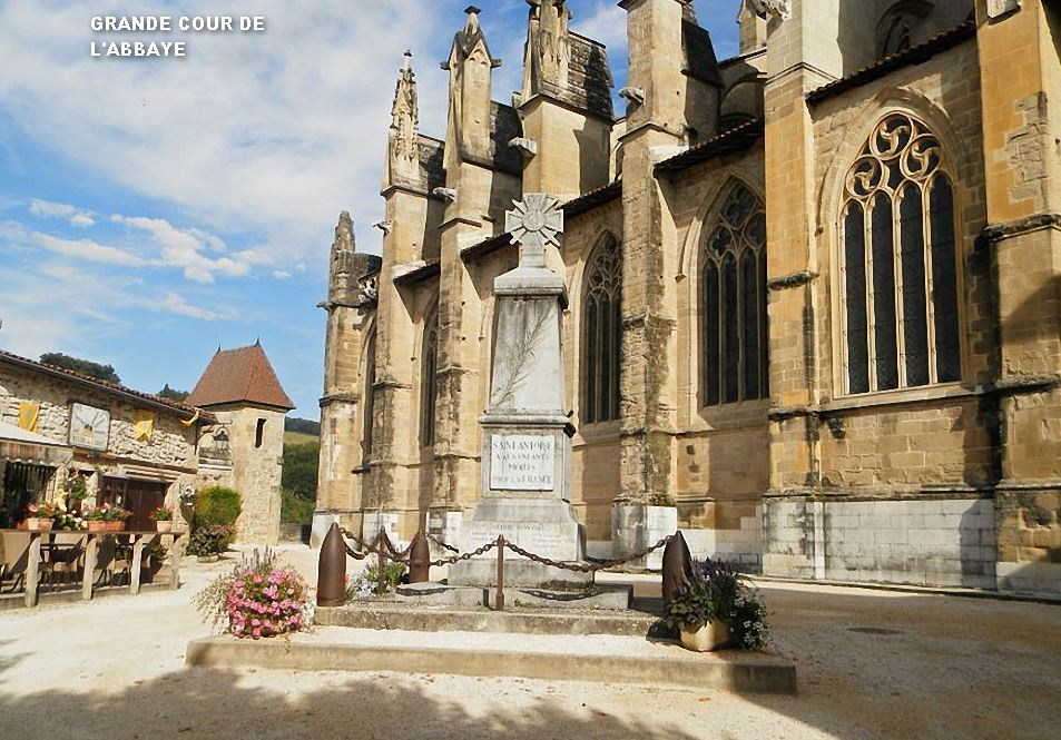 Photo saint antoine l 39 abbaye 38160 saint antoine l - Saint antoine l abbaye office de tourisme ...