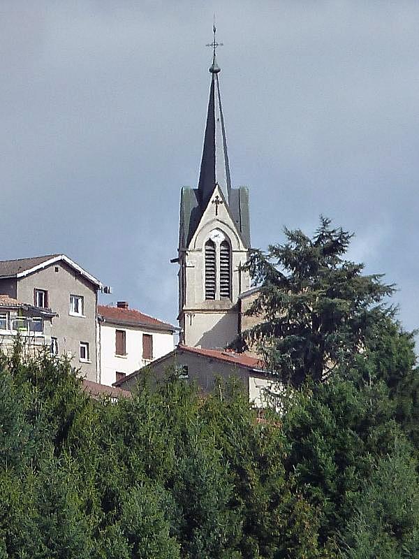 Photo la tour en jarez 42580 vue sur le clocher la - Meteo saint priest en jarez ...