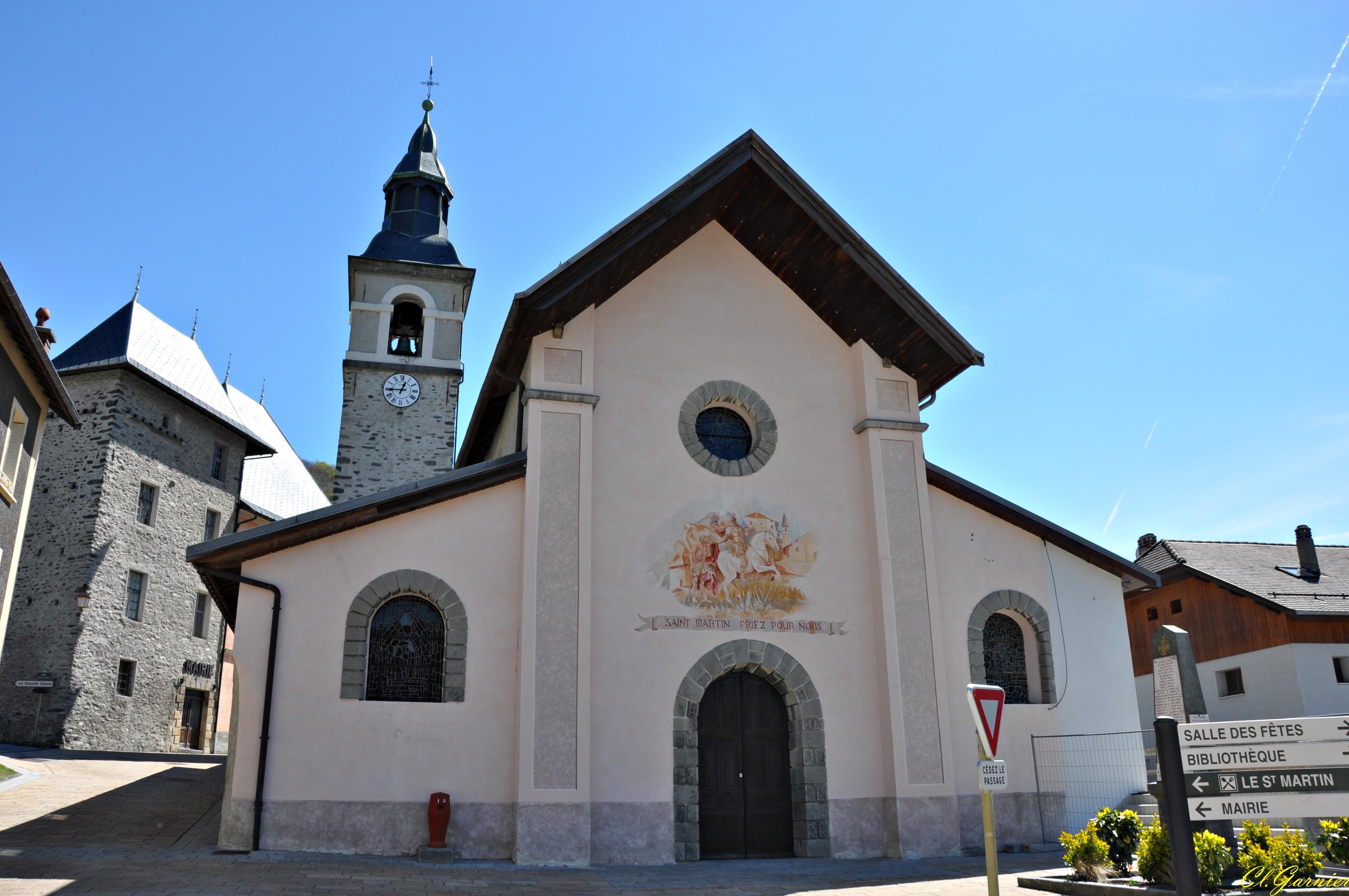 Photo saint martin de la porte 73140 l 39 eglise for La porte and associates