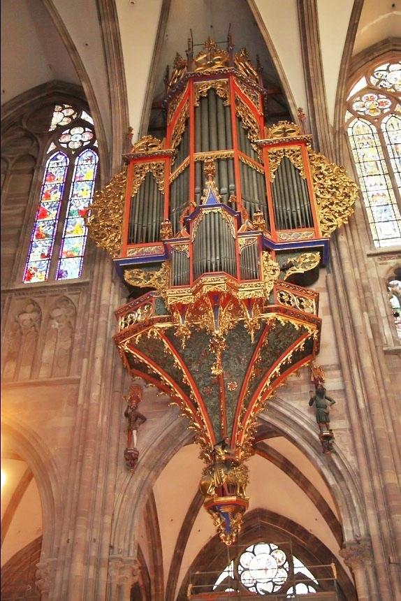 photo strasbourg 67000 orgue de la cath drale de strasbourg 39829. Black Bedroom Furniture Sets. Home Design Ideas