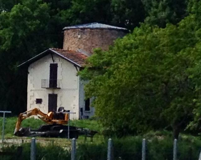 Photo m rignac 33700 ancien moulin vent de la ferme exp rimentale xvi - Conteneur transforme en habitation ...
