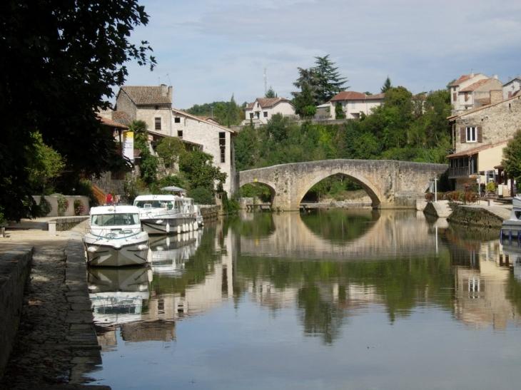 Photo n rac 47600 vue du port fluvial de n rac 10557 - Office tourisme lot et garonne ...