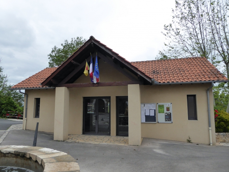 La mairie - Montmurat