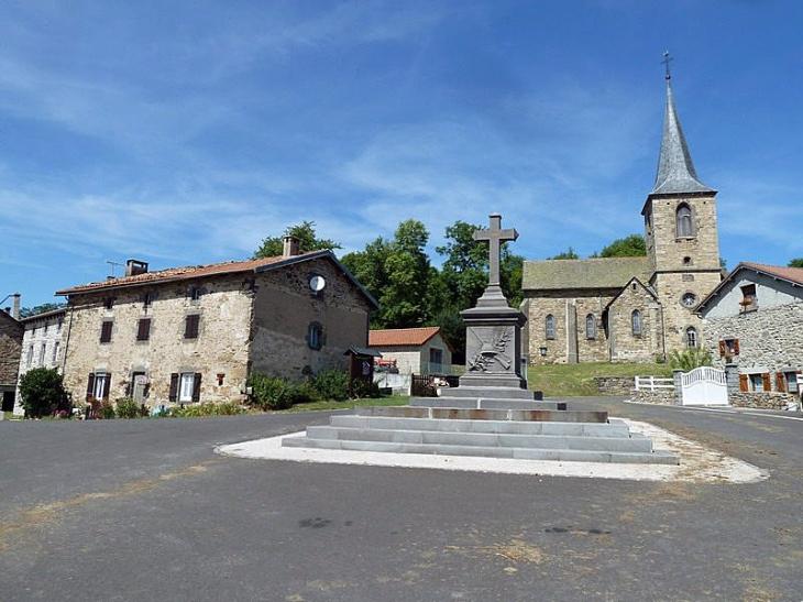 Vue sur le village - Soulages
