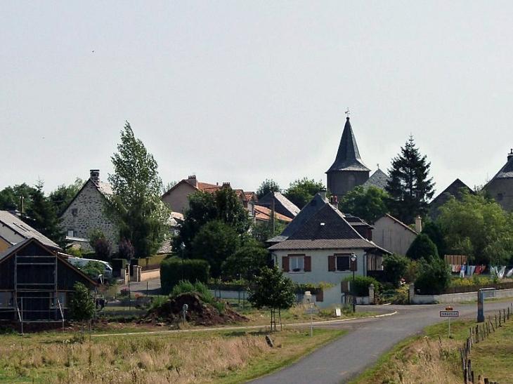 Vue sur le village - Tanavelle