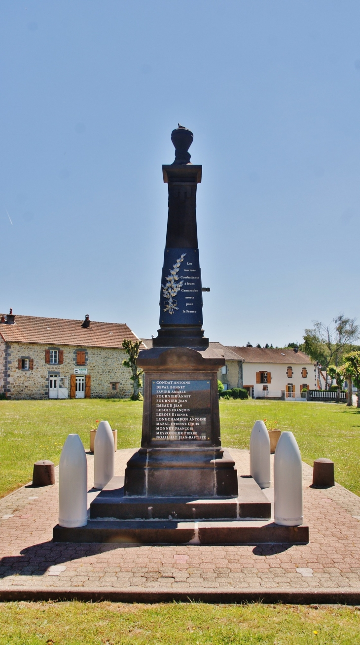 Monument-aux-Morts - Bromont-Lamothe