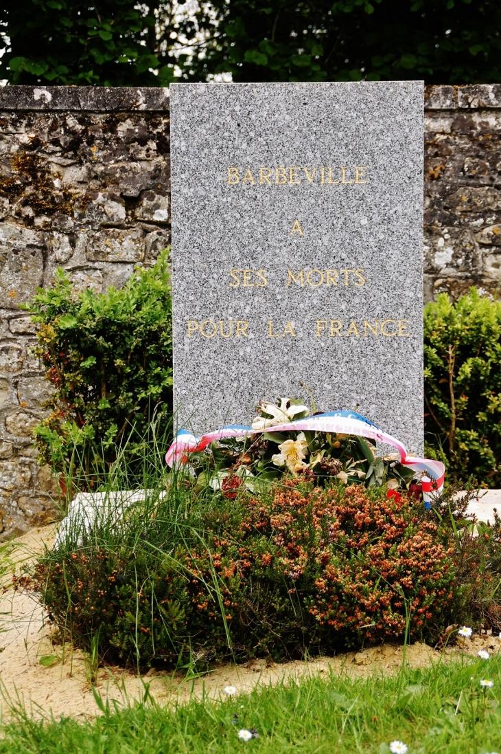 Monument-aux-Morts - Barbeville