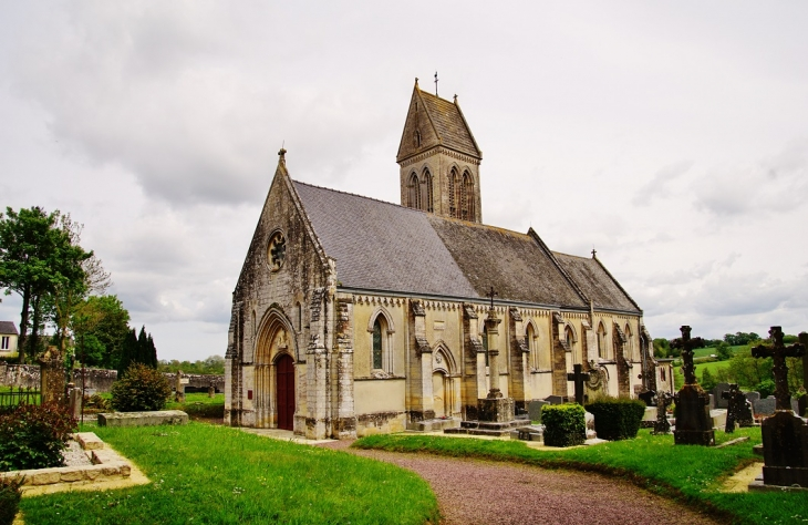 église St Martin - Barbeville