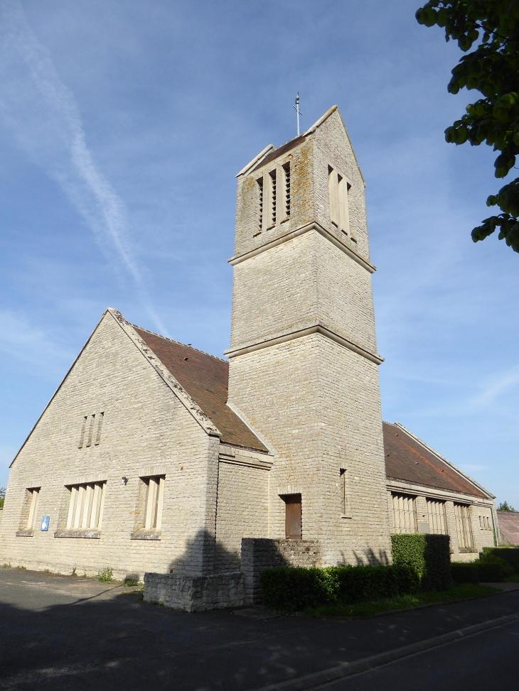 La nouvelle église - Bréville-les-Monts
