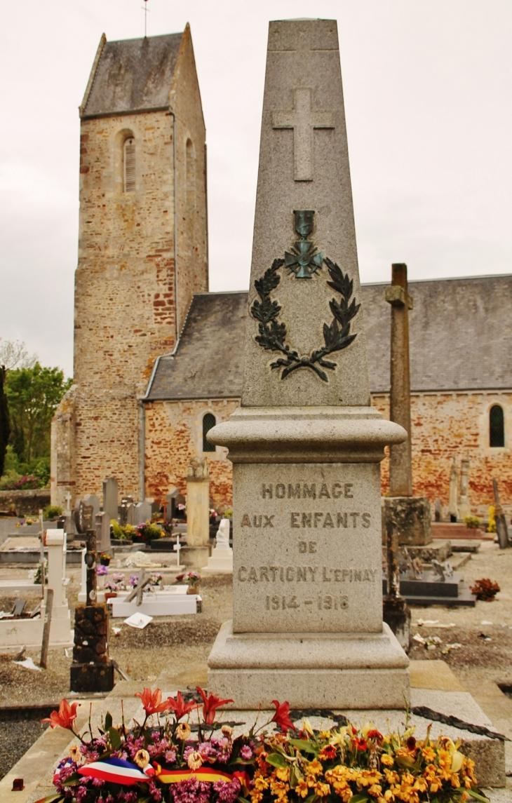 Monument-aux-Morts - Cartigny-l'Épinay