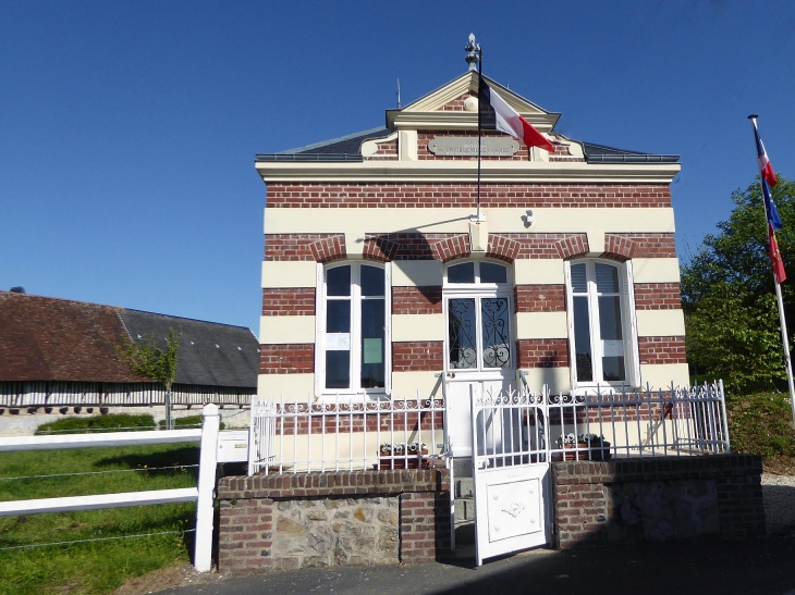La mairie - Cricqueville-en-Auge