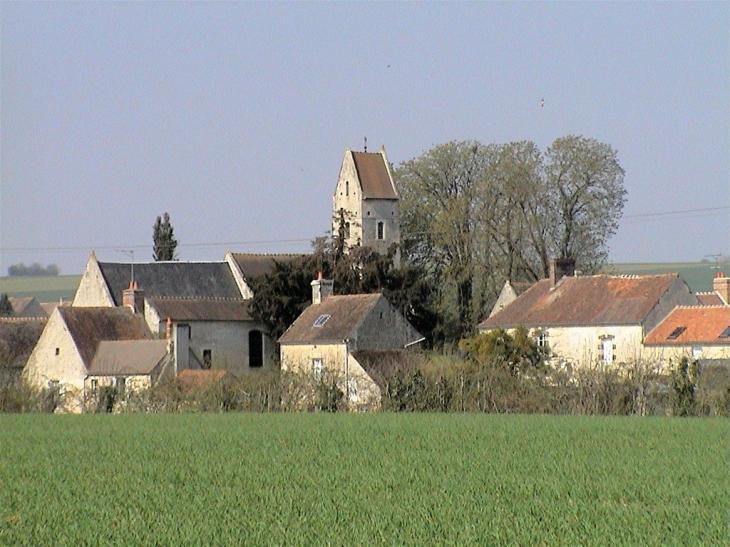 Le bourg et l'Eglise - Épaney