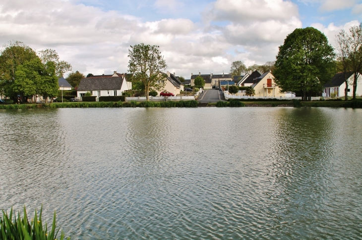 L'étang - Fontenay-le-Pesnel