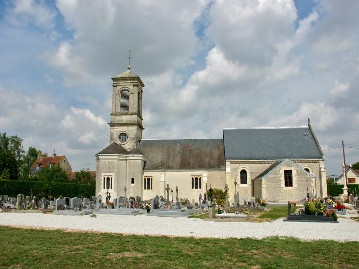 Eglise paroissiale Saint Barthélémy (XVIIIe siècle). - La Hoguette