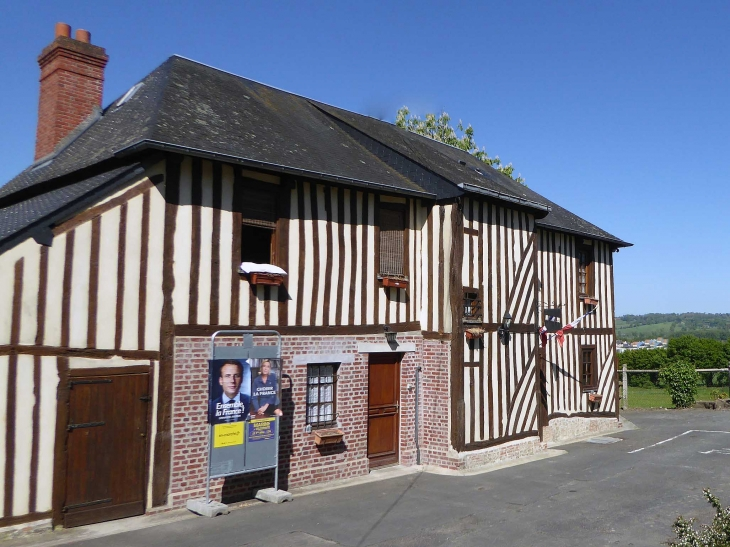 La mairie - Saint-Léger-Dubosq