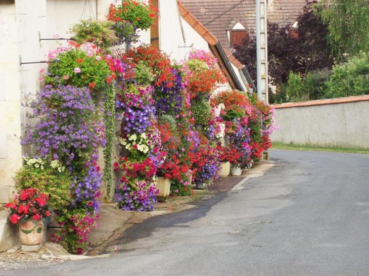 Photo bouzais 18200 maison fleurie 1er prix for Maison 1er prix