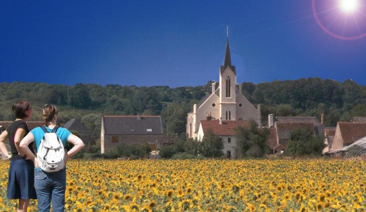 Photo berthenay 37510 eglise de berthenay 37985 - Office de tourisme de tours indre et loire ...