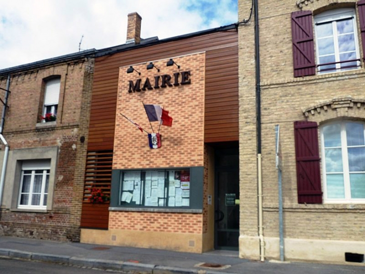 La mairie - Lucquy