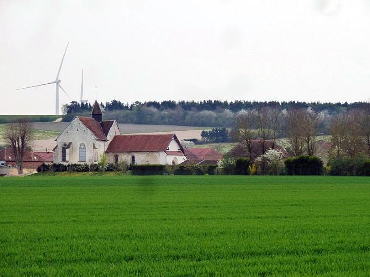 Vue sur le village - Mesnil-la-Comtesse