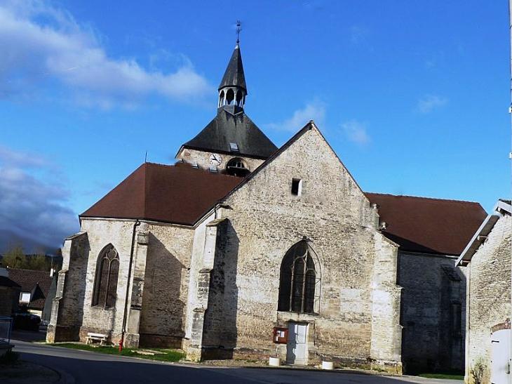 L'église - Montier-en-l'Isle