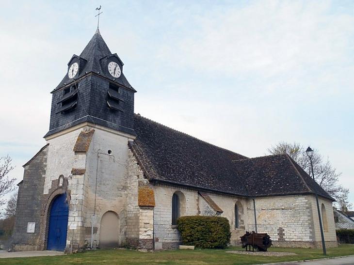 L'église - Neuville-sur-Vannes