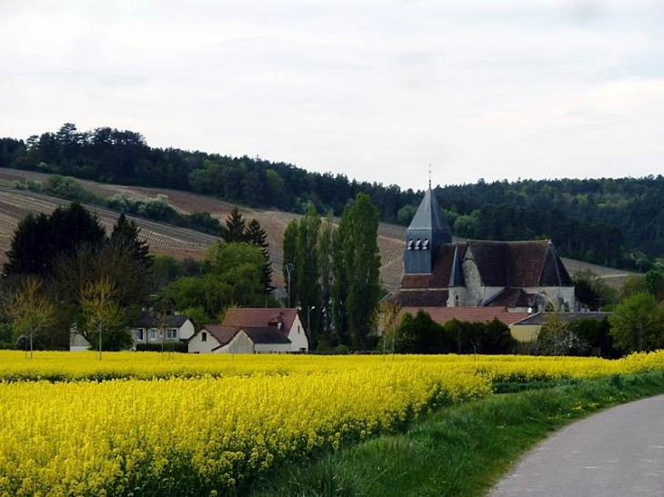 Vue sur le village - Polisot