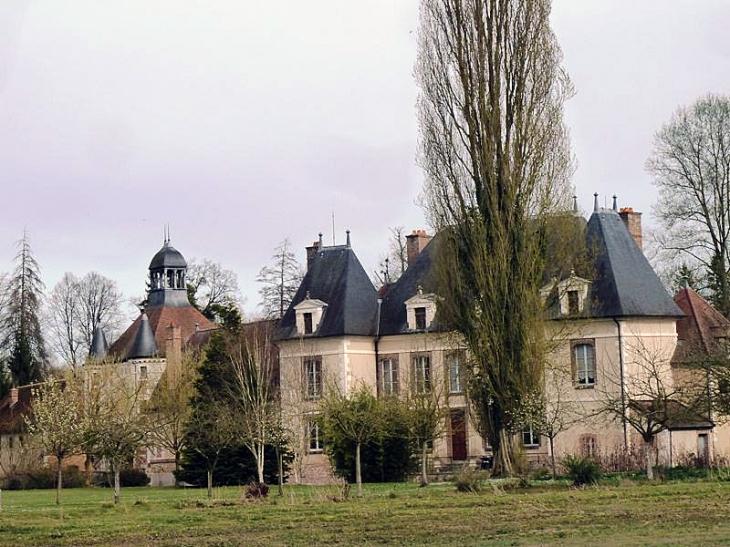 Le château - Saint-Benoist-sur-Vanne