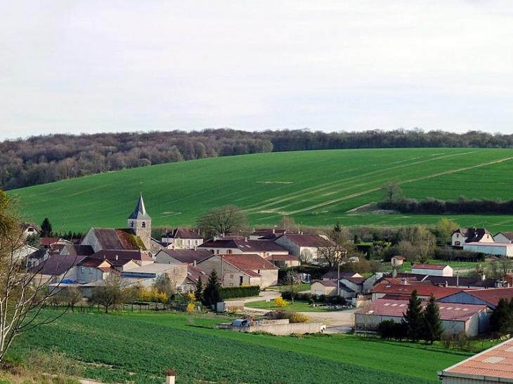 Vue sur le village - Saulcy