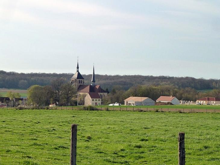 Vue sur le village - Soulaines-Dhuys