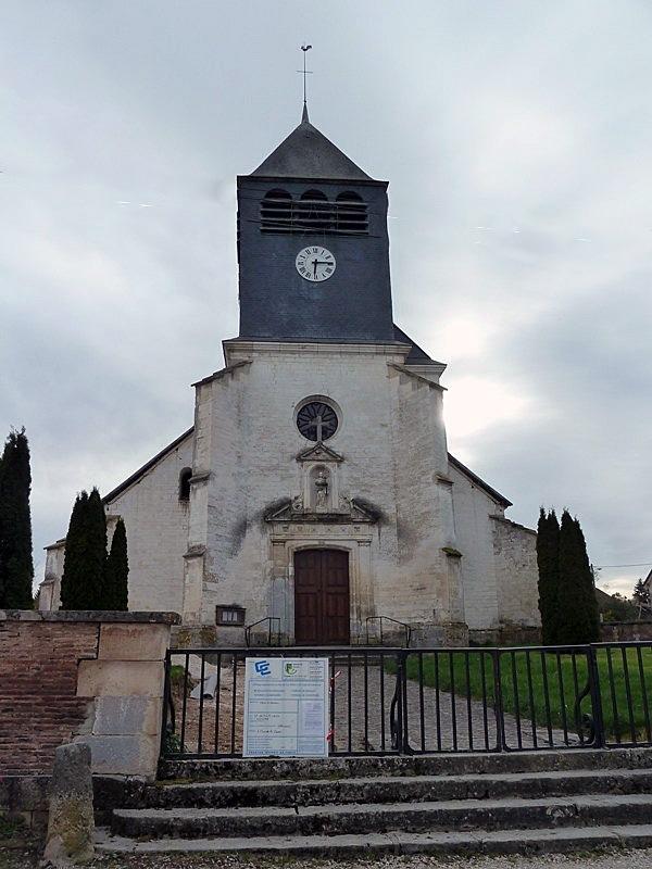 L'église - Vauchassis