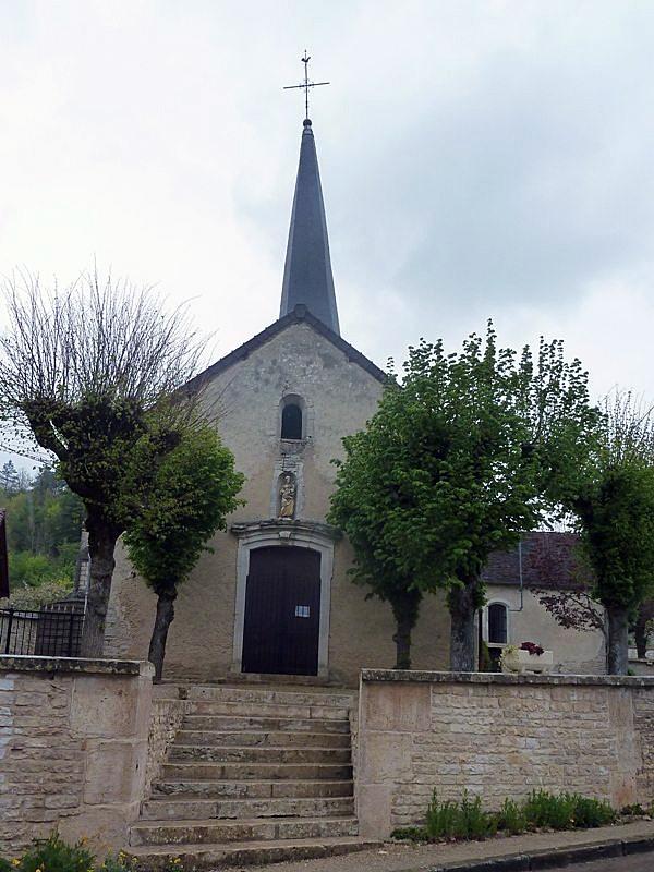 L'église - Verpillières-sur-Ource