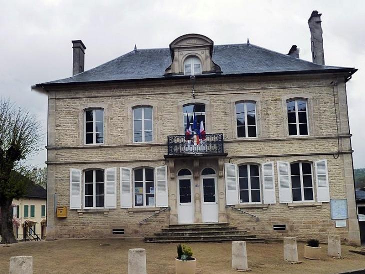 La mairie - Verpillières-sur-Ource