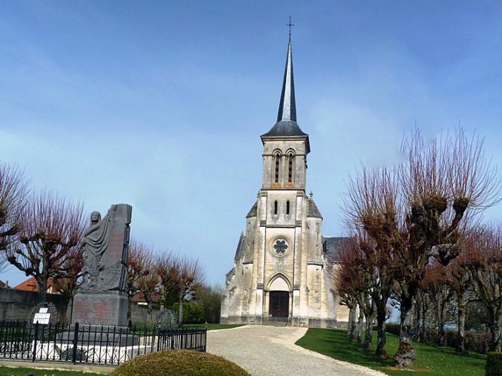 L'église - Villechétif