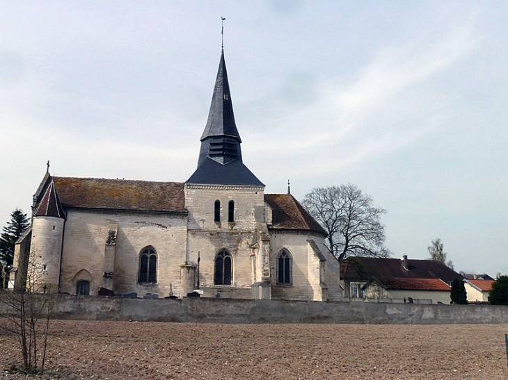 L'église - Vinets
